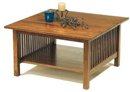 Craftsman Coffee Table Craftsman Coffee Table Square Mission Coffee Table Sears