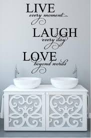 11 best final wall decal images on pinterest vinyl wall decals live every moment laugh every day love beyond words vinyl wall decal sticker home