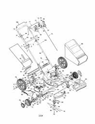 lawn mowers troy bilt lawn mower parts diagram aq sears
