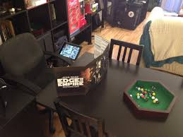 adventures in ikea lead to new gaming table setup u2013 noahchinnbooks com