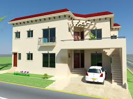 3d House Plan Design 10 Marla House Plan 3d U2013 House Design Ideas