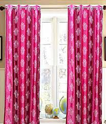 Magenta Curtain Panels Magenta Curtains Magenta Tropical Window Curtains By Peggie Prints