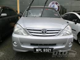 2006 toyota avanza 1 5 related infomation specifications weili