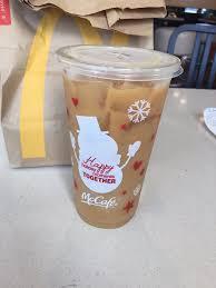 Iced Coffee Mcd mccafe cups are here medium iced coffee yelp