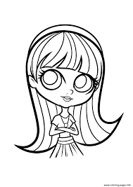 littlest pet shop blythe coloring pages printable