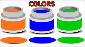 colors for children to learn with paint colors learning colours