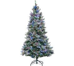ed on air santa s best 6 5 frosted simon tree by degeneres
