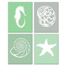 Seashell Bathroom Ideas Colors 20 Best Beach Art Images On Pinterest Beach Art Sea Shells And
