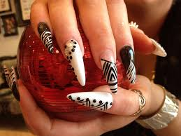 pointy nail designs image collections nail art designs