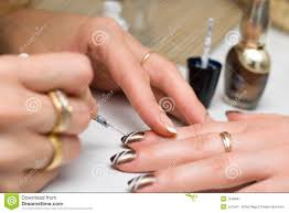 colored nails royalty free stock photography image 7970847