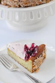 matcha white chocolate cake w hibiscus cream from hr kitchen