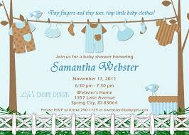 invitation for baby shower boy cloveranddot com