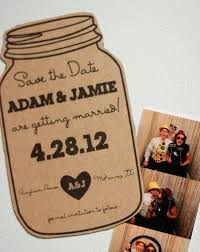 rustic save the date magnets deposit for magnet jar save the date rustic wedding