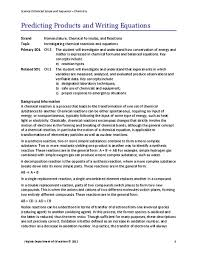 all worksheets types of chemical reactions worksheet answers
