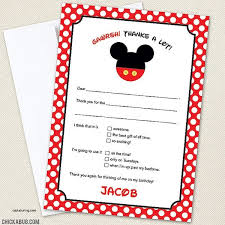mickey mouse thank you cards friendship mickey mouse thank you cards template in conjunction