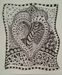 judy u0027s zentangle creations about zentangle and my first design