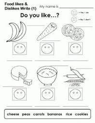 food worksheet cosas para ponerme pinterest worksheets for