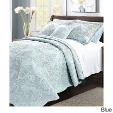 serenta damask 4 piece bedspread set free shipping today