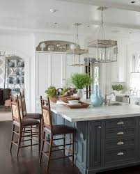 island design kitchen traditional with pendant lamps wooden