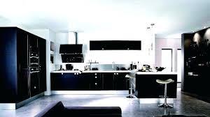 cuisine noir laqué cuisine laque noir cuisine laquee photo de cuisine