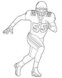nfl american football player coloring pages coloringstar within