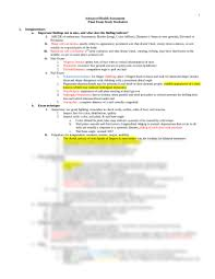aha final study guide docx assessment nuro528 with jacobawitz at