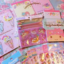 letter writing paper sets pastel jelly beans stationery collection letter sets the two on the top are variety packs with different envelopes writing paper stickers and memo notes the purple one on the bottom right is my