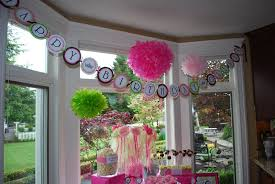 elegant outdoor first birthday party decorations home ideas 2016