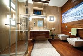 bright bathroom interior with clean apartments cotemporary apartment design on the coast with metal