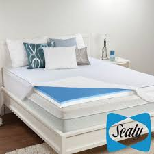 bedroom cool mattress topper with side table and rug for chic