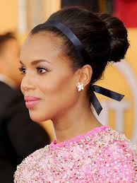 kerry washington hair pin up how to make your hair last all night allure
