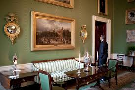 In The Green Kitchen - file barack obama at the green room of the white house jpg