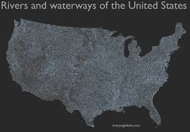 United States Map With Rivers by How To Map Geospatial Data Usa Rivers R Bloggers