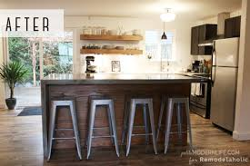 floating island kitchen remodelaholic diy concrete kitchen island reveal how to