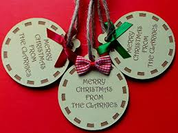 personalised wooden christmas tree decorations baubles any