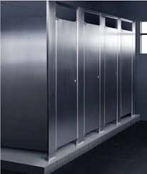 Stainless Steel Bathroom Partitions by Metal Bathroom Partitions Home Design Interior