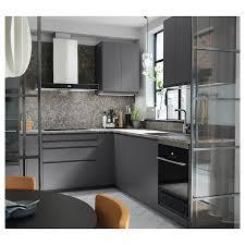kitchen cabinet marble top ekbacken countertop gray marble effect laminate