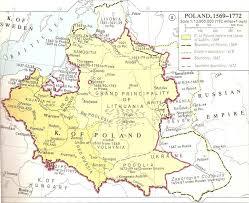 Map Poland The Empire Of Poland