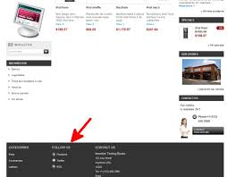 Prestashop Hosting Title How To Edit The Follow Us Information In Prestashop 1 5 Inmotion