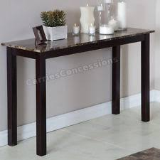 Espresso Console Table Asian Style Sofa Table Espresso Console Foyer Xavier Part Set