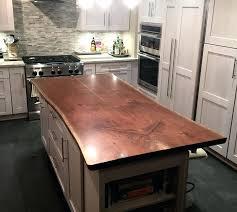 kitchen island reclaimed wood kitchen island wood countertop wood walnut live edge island