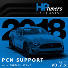 hp tuners cracks open the 2018 mustang gt calibration
