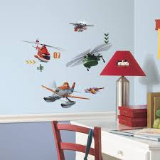 roommates planes fire rescue peel stick wall decals amazon com