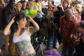 comedian margaret cho busks for the homeless missionlocal