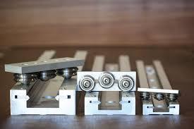 Famosos Guia linear de rolos / em alumínio / compacta / de trilho - Modern  #TK05