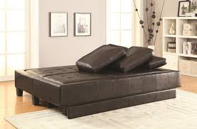 brown leather sofa bed and ottoman set steal a sofa furniture