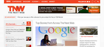 web design news the next web international technology news business culture