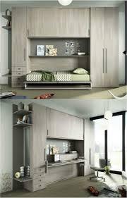 bureau chambre enfant design interieur armoire lit escamotable transforme bureau chambre