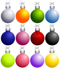 colorful ornaments collection stock illustration image