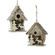 wooden moose ornaments ebay